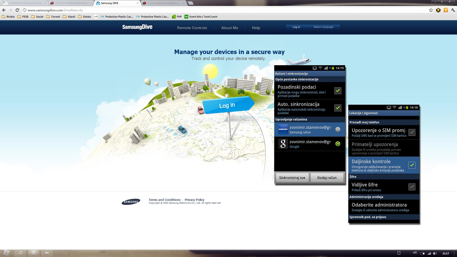 8 misija samsung dive zstamenov - Samsung dive mobile tracker ...